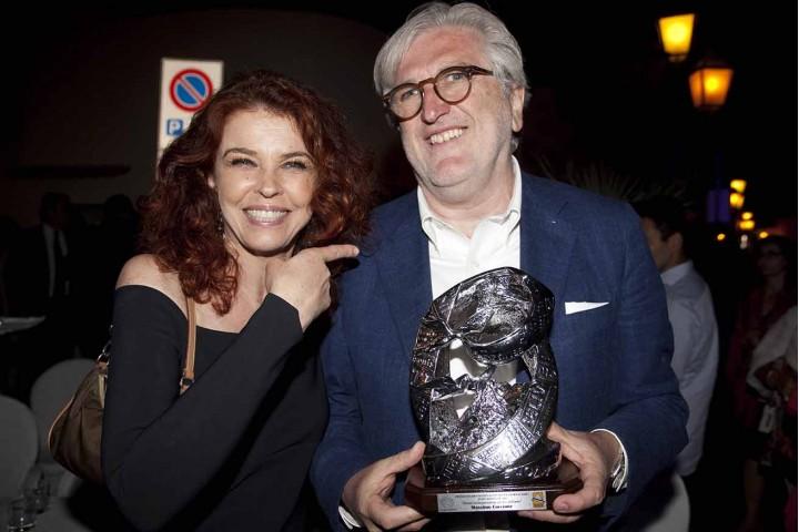 Paola Saluzzi e Massimo Corcione