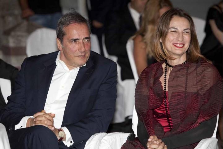 Enzo D'Errico e Laura Valente