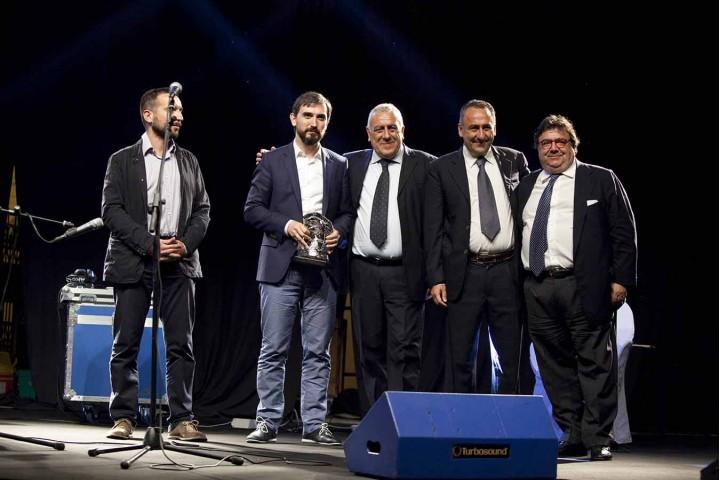 Escolar con Benedetto ed Elio Valentino e Maurizio Maddaloni