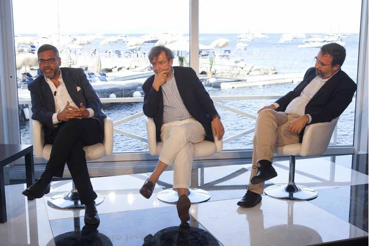 Andrea Vainello,Ernesto galli Della Loggia e Marco Damilano