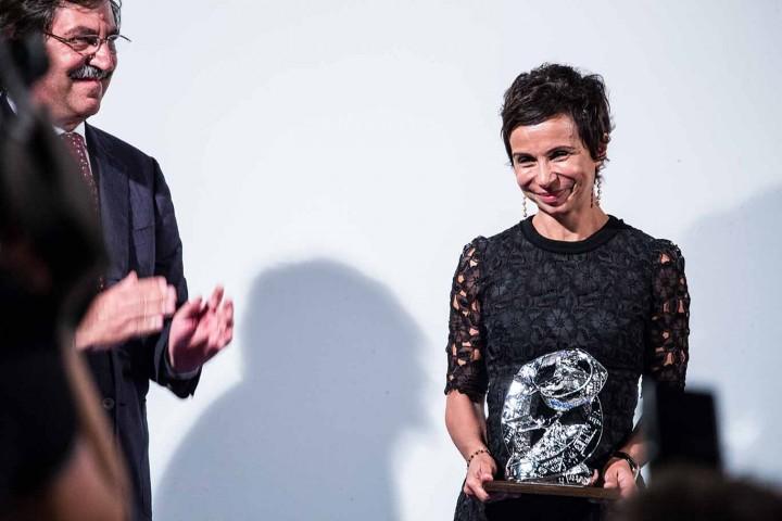 Barbara Spinelli vincitore della sezione giornalista dell'anno per la carta stampata