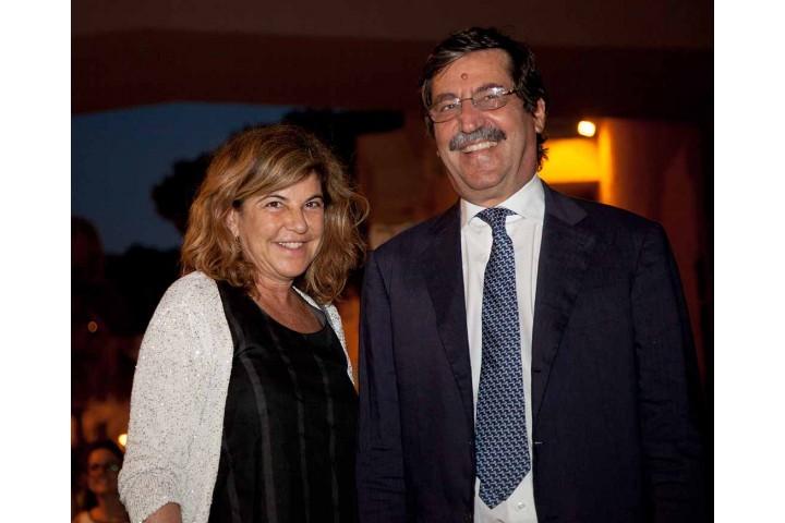 Giancarlo Carriero e sua moglie
