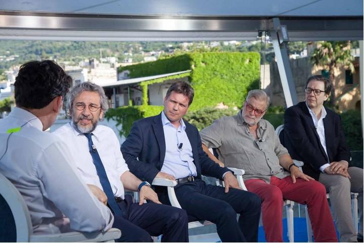 Dibattito indiretta su Sky con Can Dündar